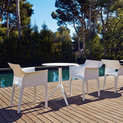 Vondom Revolution - Pedrera Chair (Set of Four), [Molecule Design]