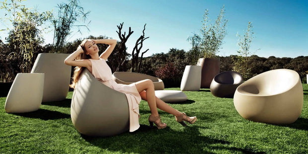 Stone Lounge Chair-Furniture-Molecule Design . Online_Santa_Fe