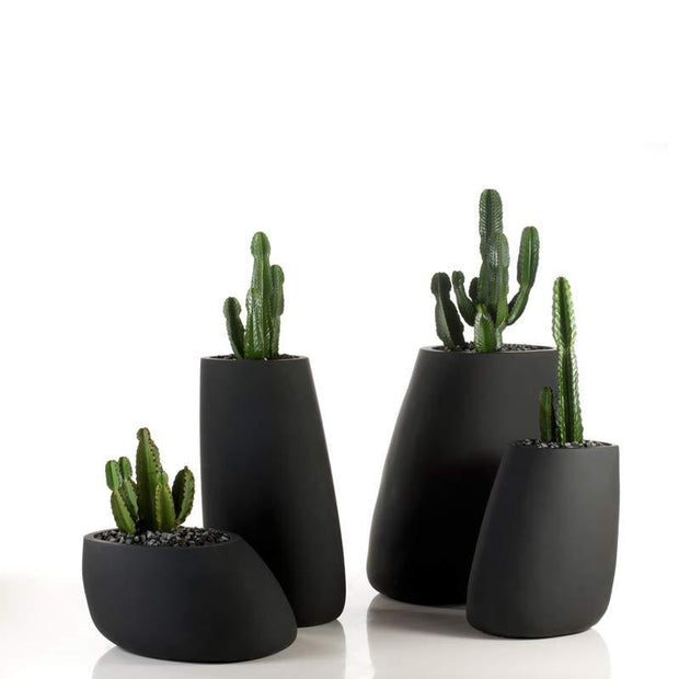 Stone Planter 100-Accessories-Molecule Design . Online_Santa_Fe