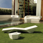 Faz Sun Chaise Lounge Table