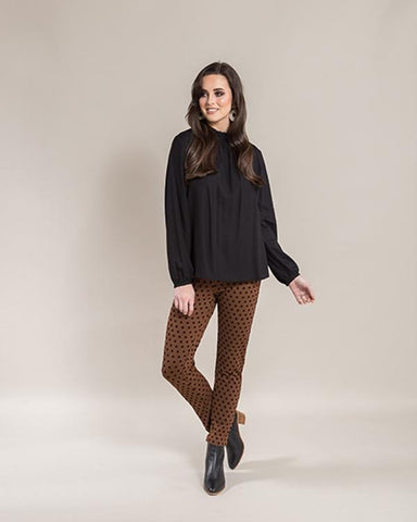 Ankle Grazer Pull on Pant Spice 5903