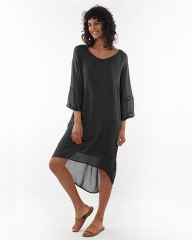 Elm Margo Layer Dress - Black