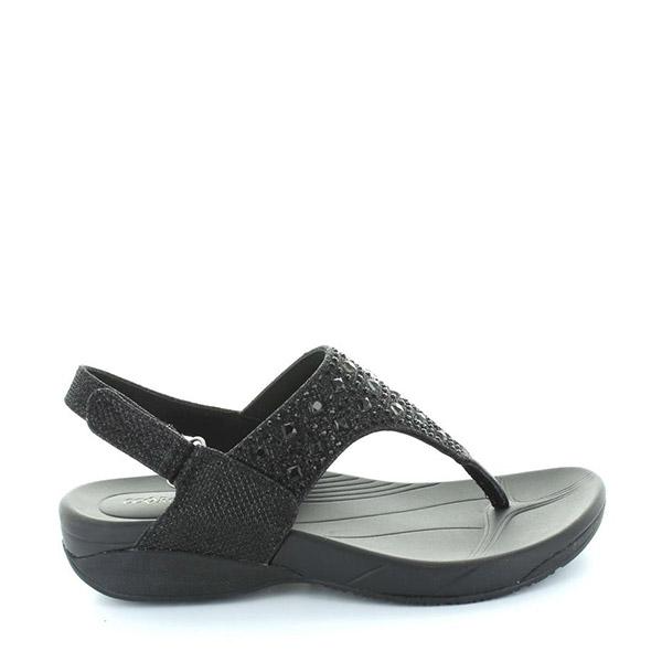 Flan Black Diamond Sandal