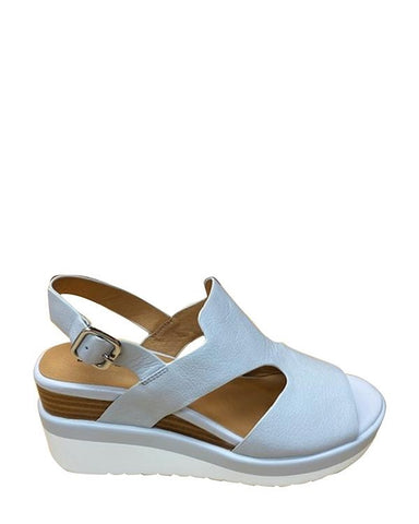 Rosa Wedge Sandal - Cement