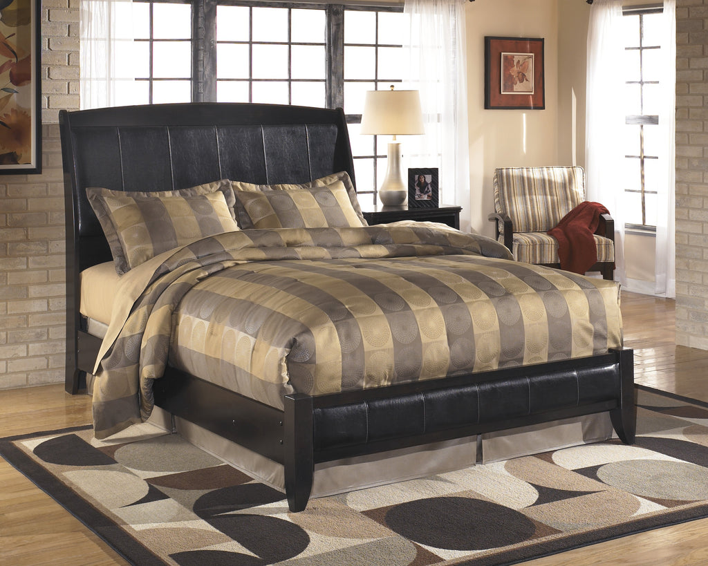 Ashley Bed No, Thank you / No, Thank you Ashley Harmony Sleigh Bed (Queen, King)