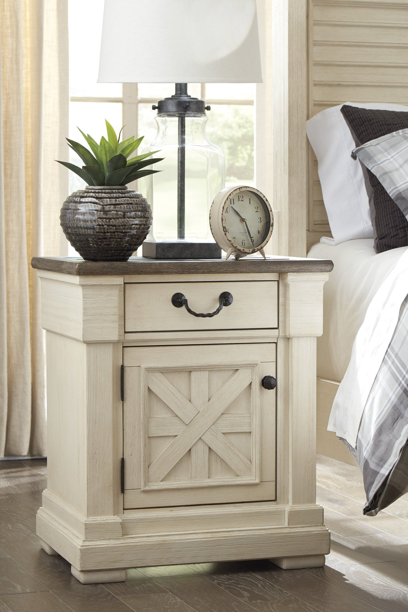 Ashley Bolanburg White Panel Bedroom Set (Queen, King) – Forest ...