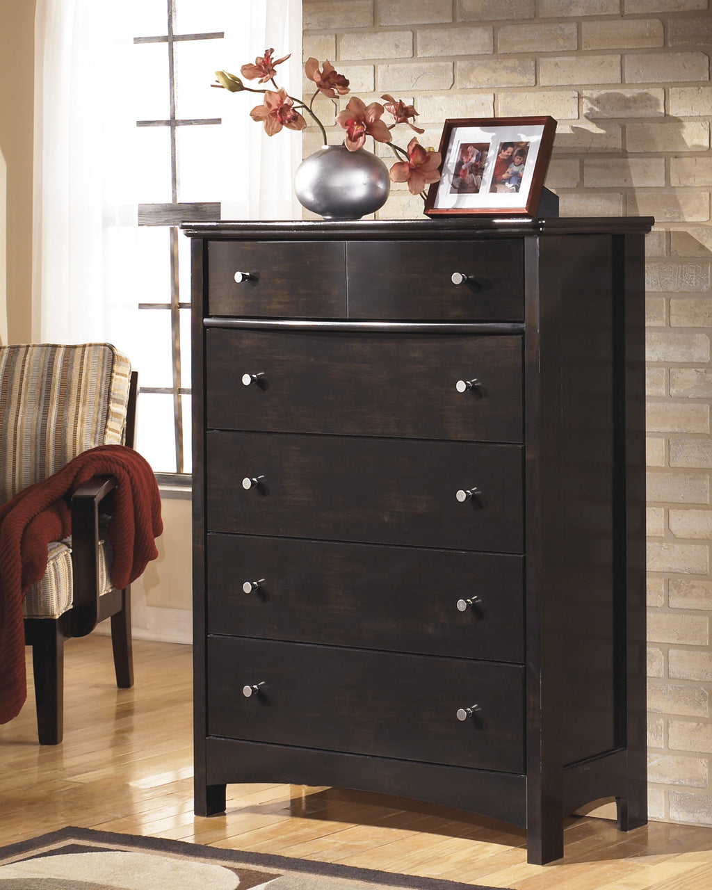 Ashley Chest No, Thank you Ashley Harmony Five Drawers Chest