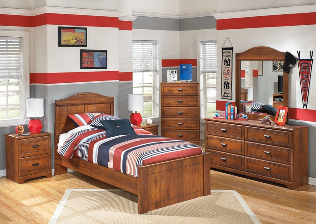 Ashley Kid's Bedroom Set No, Thank you / No, Thank you Ashley Barchan Panel Bedroom Set (Twin, Full)