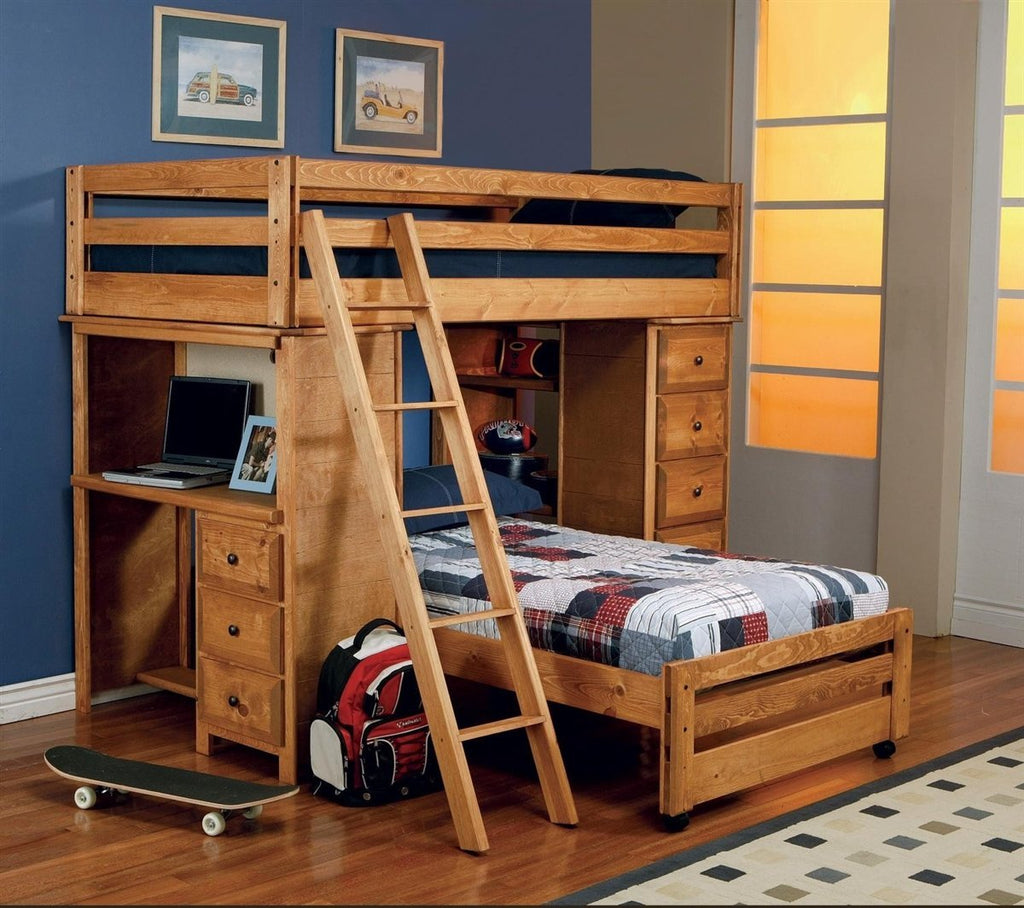 Coaster Bunk Bed No, Thank you Coaster Wrangle Hill 460141 Twin Loft Bed