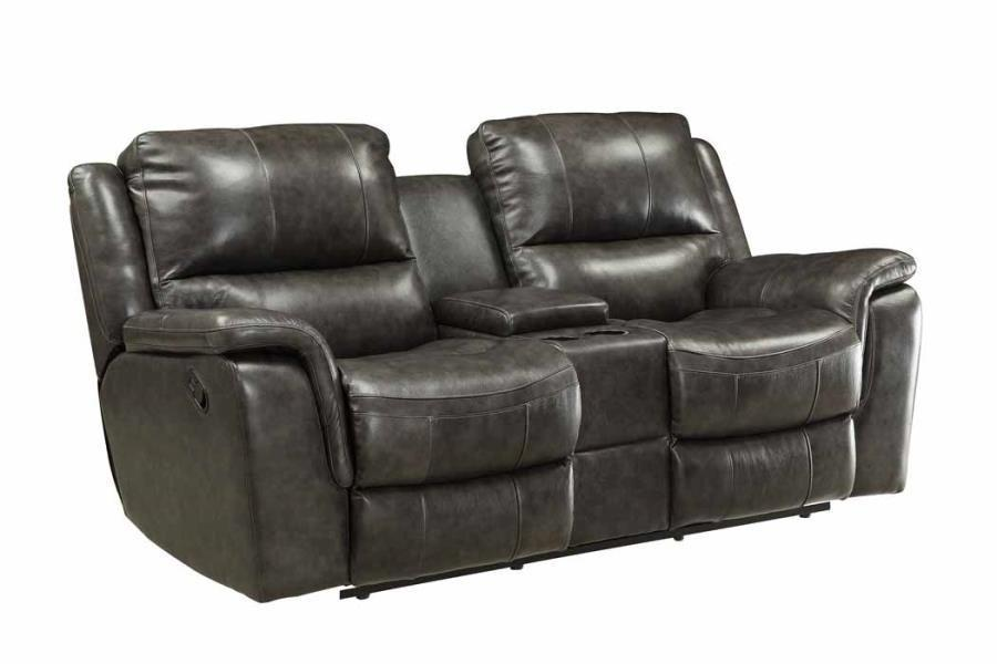 Coaster Loveseat No, Thank you Coaster Wingfield 601822P Charcoal Modern Power Loveseat