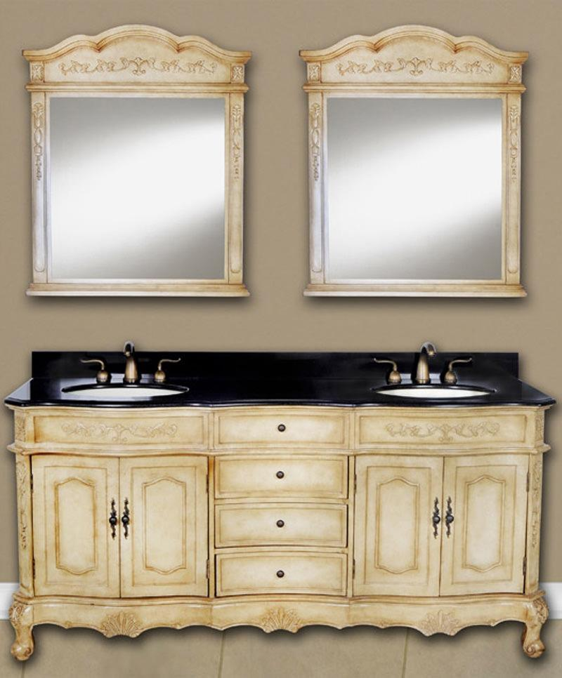 "Forest Furniture Bathroom Vanity No, Thank you / No, Thank you Forest Furniture Kensington 72"" Double Bathroom Vanity"