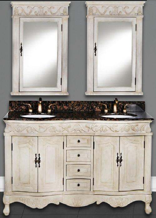 "Forest Furniture Bathroom Vanity No, Thank you / No, Thank you Forest Furniture Tuscany Classic 60"" Double Bathroom Vanity"