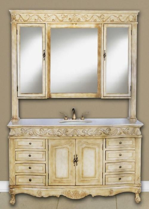 "Forest Furniture Bathroom Vanity No, Thank you / No, Thank you Forest Furniture Tuscany Classic 60"" Single Bathroom Vanity"
