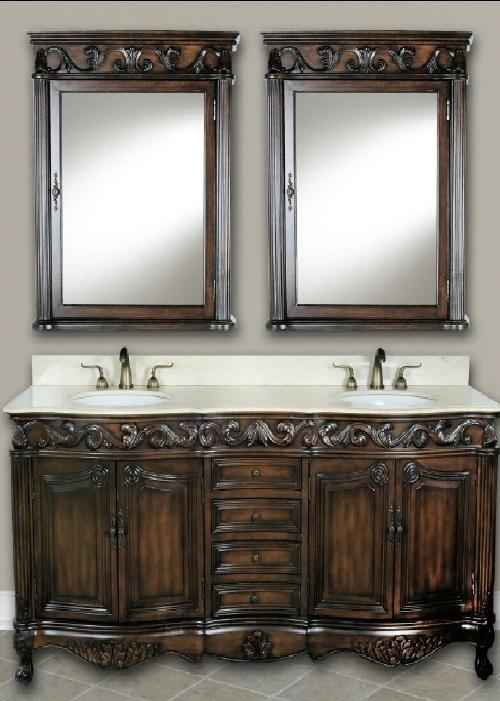 "Forest Furniture Bathroom Vanity No, Thank you / No, Thank you Forest Furniture Tuscany Classic 72"" Double Bathroom Vanity"