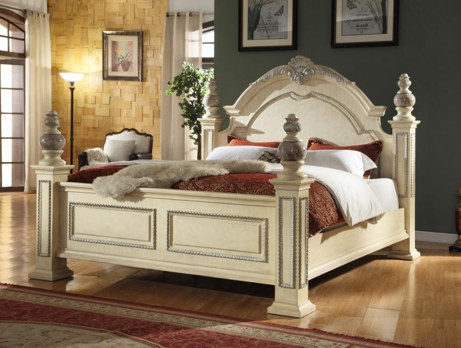 Meridian Bed No Thank You / No, Thank you Meridian Sienna Panel Bed in Beige (Queen, King)