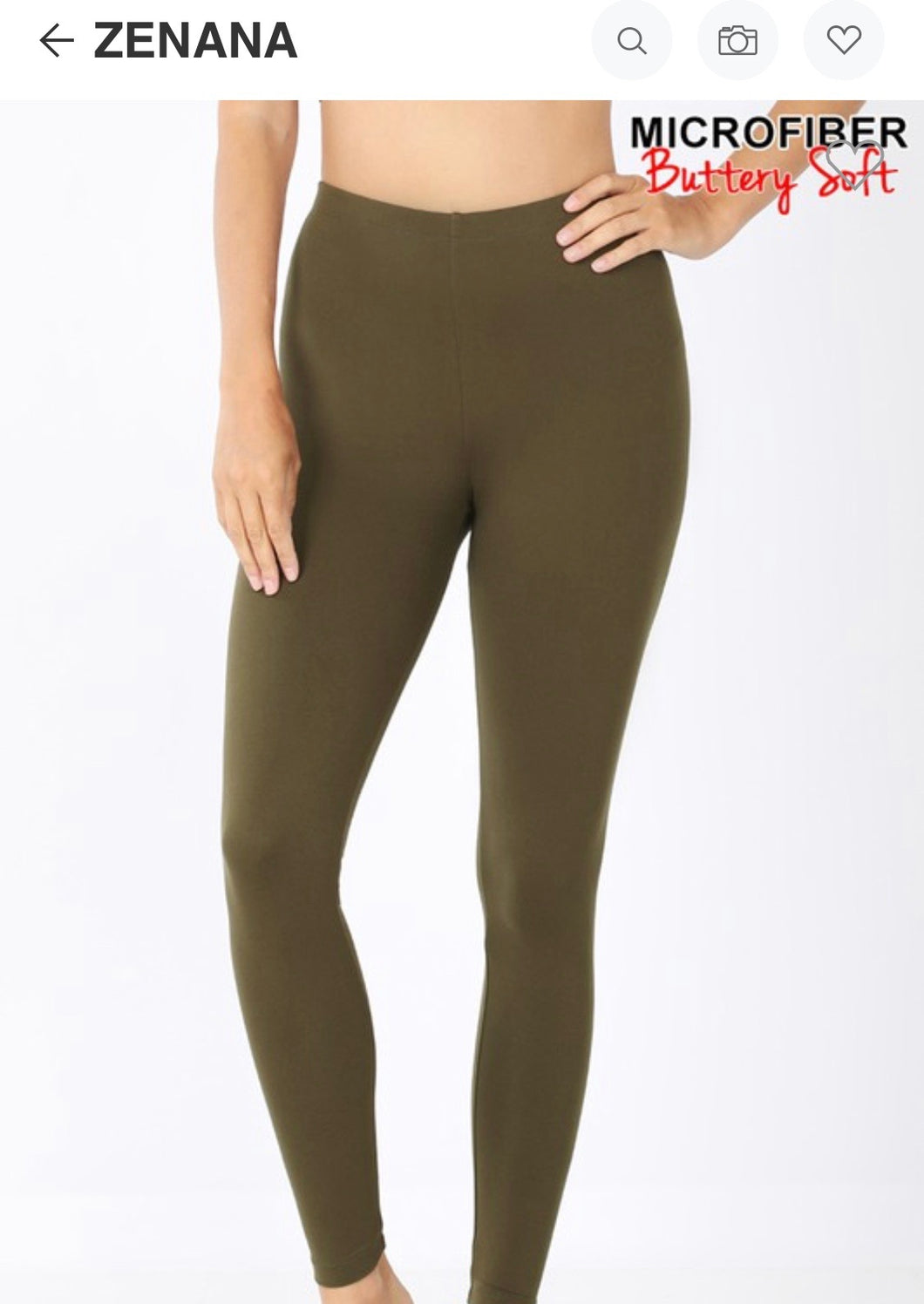 Buttery Soft Legging - Multiple Colors