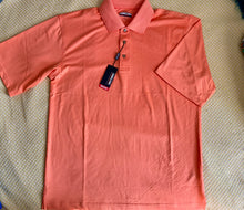 Load image into Gallery viewer, Men's Polo- Neon Orange