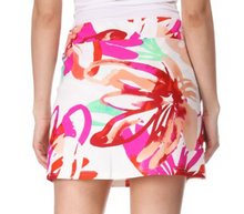 Load image into Gallery viewer, Water Color Floral Skort