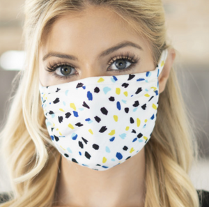 Printed Face Mask - Unisex Adult