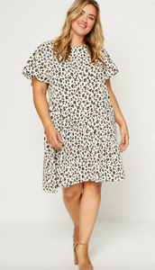 Curvy Gal Leopard Dress