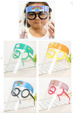 Load image into Gallery viewer, Kids Round Glasses Face Shield