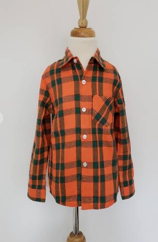 Kids Fall Flannel