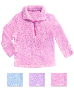 Toddler Fleece Pullover - Pink