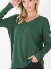 Load image into Gallery viewer, Softest Sweater -Dark Green