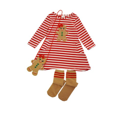Girls Ginger Bread 3pc Set