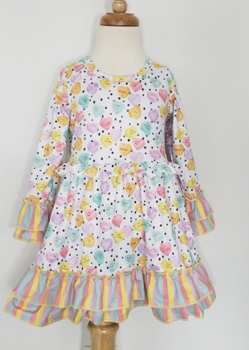 Girls Sweet Heart Dress