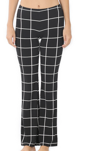 Black and White Work Pant