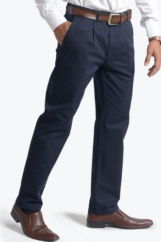Men's Chino Fit Pant -Navy