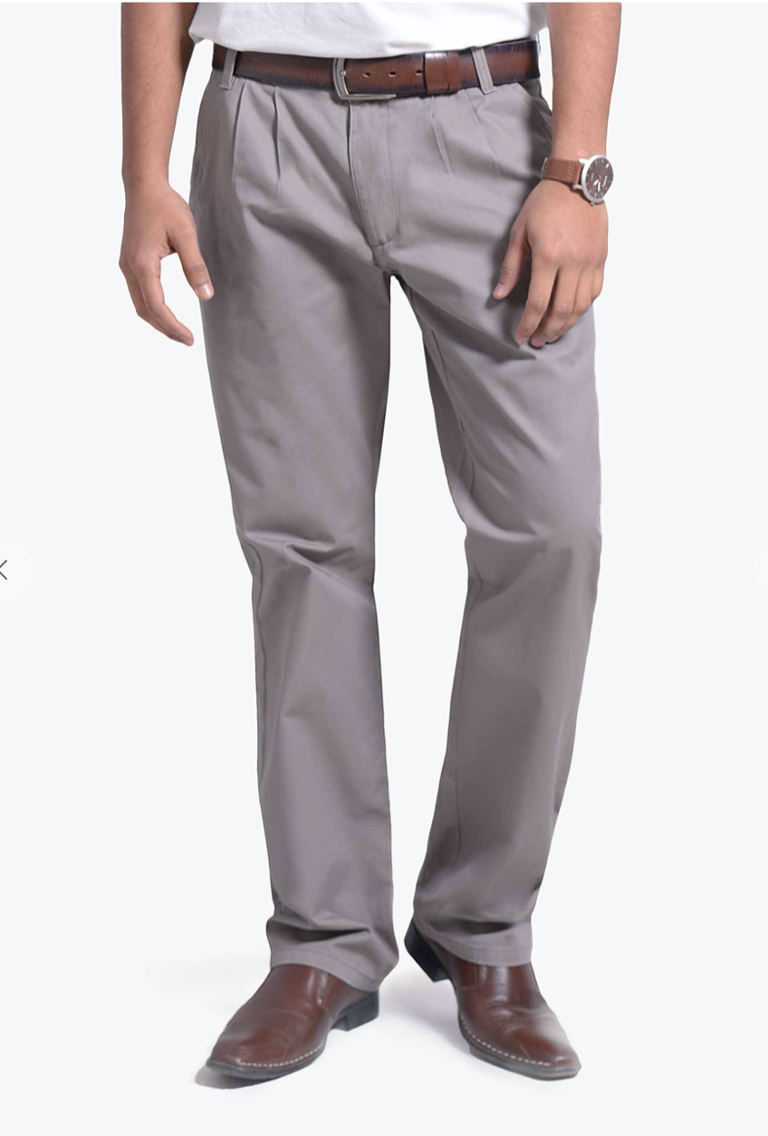 Men's Chino Pant -Gray