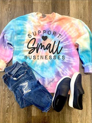 Support Small Business SweatShirt