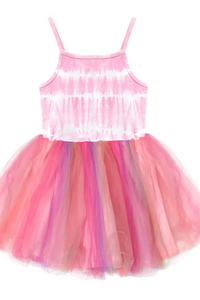 Girls Ballerina Party Tutu Dress