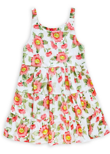 Girls Flower Field Sundress