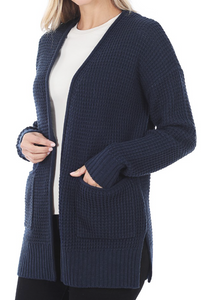 Spring Sweater Cardigan -Navy