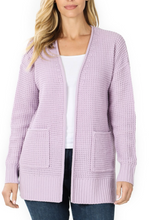 Load image into Gallery viewer, Spring Sweater Cardigan -Bright Pink