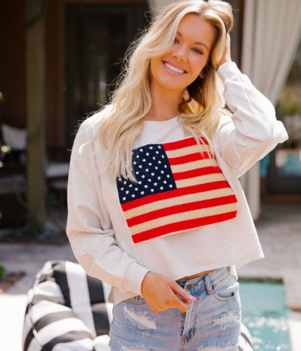 All American Girl Pullover