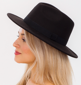 Panama hat with Leather Band