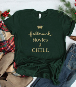 Hallmark and Chill, Green and Gold!