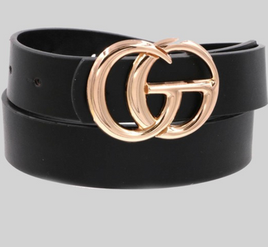 Wannabe GG Belt in Black or Biege