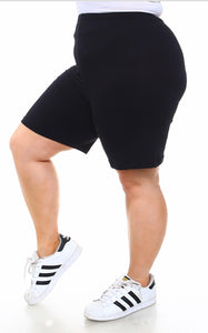 Curvy Active Short