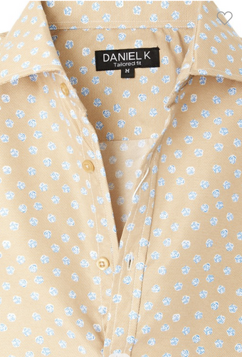 Men's Spring Button Up