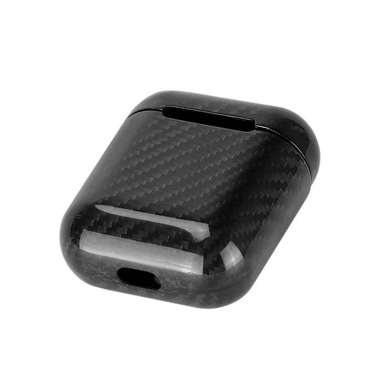 f2913f2d67c ... Load image into Gallery viewer, Real Carbon Fiber protective case for  Airpods and Airpods 2