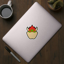 Load image into Gallery viewer, Bowser Stock Icon Die Cut Sticker