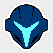 Load image into Gallery viewer, Dark Samus Stock Icon Die Cut Sticker