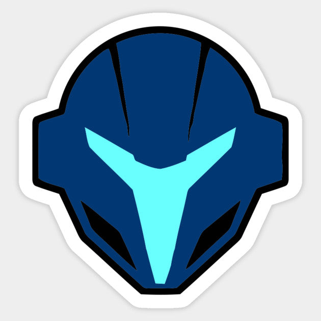 Dark Samus Stock Icon Die Cut Sticker