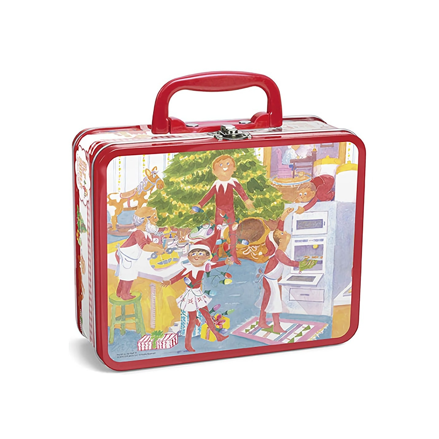 The Elf On The Shelf Lunch Box Elf Ver. With 48 Piece Puzzle