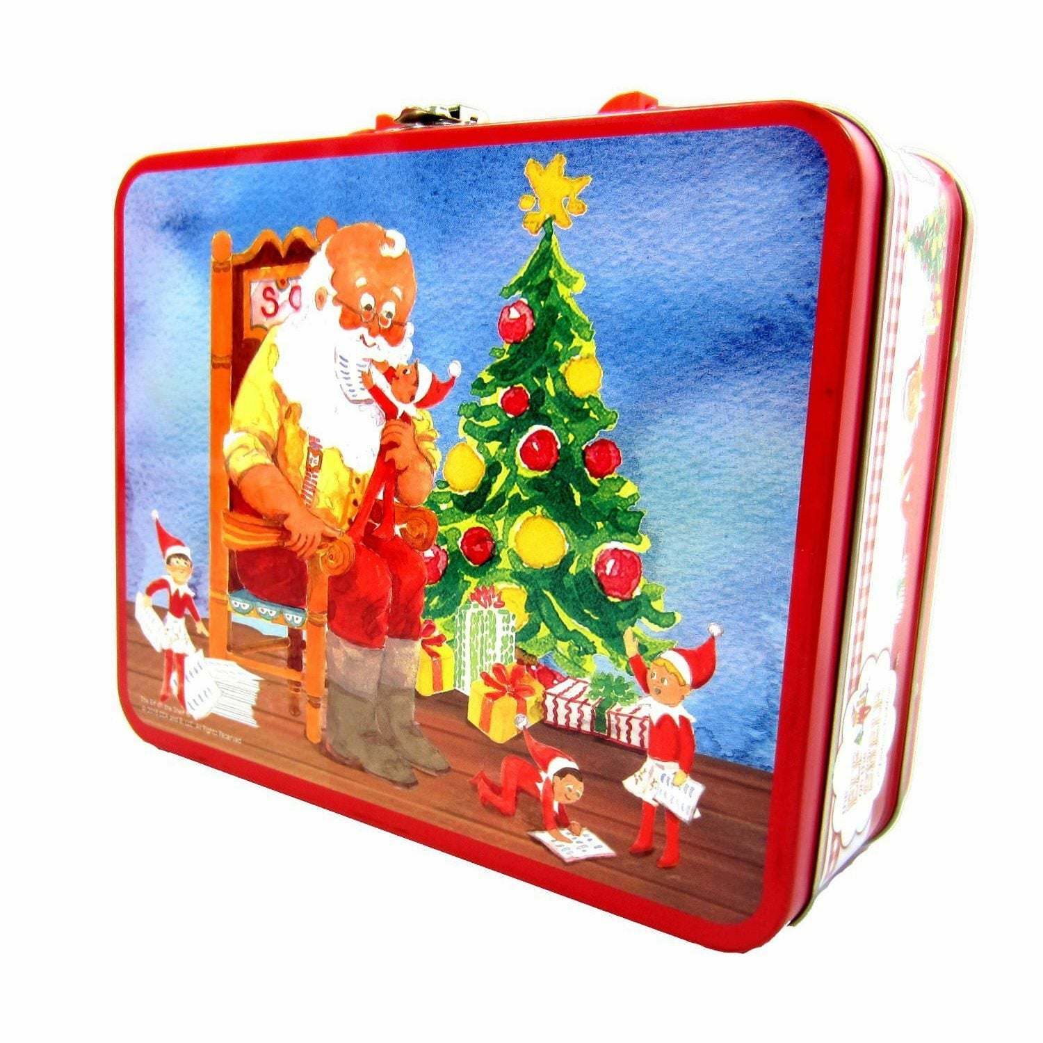 The Elf On The Shelf Lunch Box Santa Ver. With 48 Piece Puzzle
